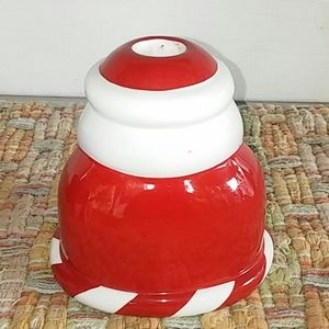 Department 56 Holiday - Merry Merry Santa Tappered Candle Holder